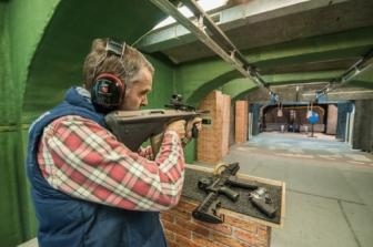 kombatová střelnice v Brně